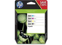 HP Inc. Tusz nr 364 CMYK 4-pack N9J73AE