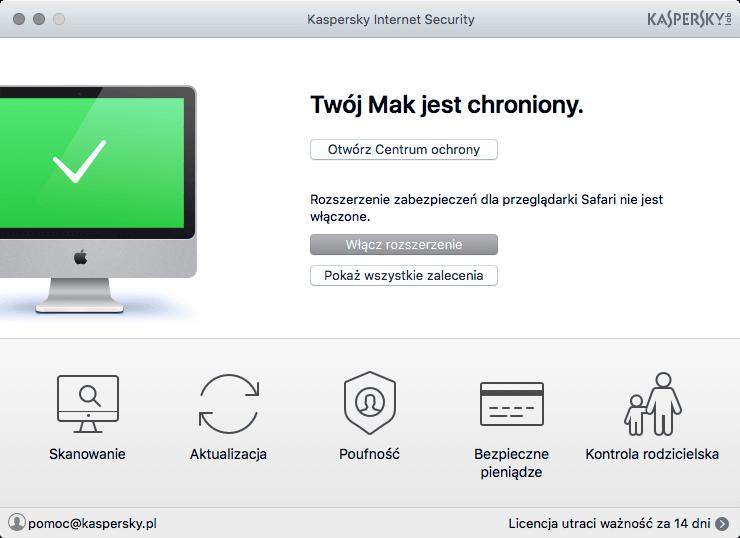 Kaspersky Internet Security 5 urządzeń / 1 rok kontynuacja na Arena.pl