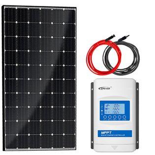 Zestaw solarny 190W Mono + MPPT Xtra