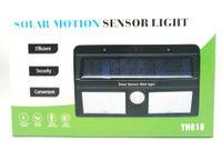 Lampa solarna LED podwójna z czujnikiem ruchu