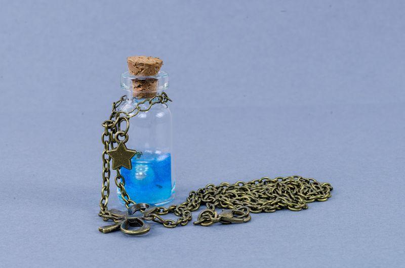 BUTELECZKA szklana 20x50mm 5cm z korkiem 1szt. zdjęcie 7