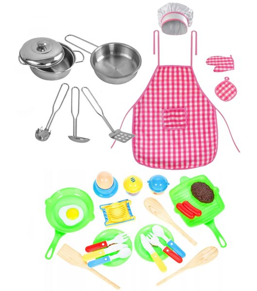 Drewniana Kuchnia Dla Dzieci Światła Dźwięki Granki Akcesoria Z371Z zdjęcie 7