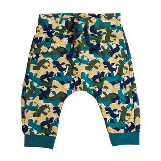 Spodnie dresowe chłopięce sportowe smoki