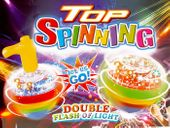 Kolorowa Zabawka ŚWIECĄCY DYSK Mini Bąk