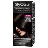 Syoss Classic Permanent Coloration Farba Do Włosów Trwale Koloryzująca 3-1 Ciemny Brąz