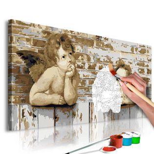 Obraz do samodzielnego malowania - Aniołki Rafaela
