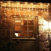 10x SOPLE 200 LED LAMPKI CHOINKOWE BIAŁE CIEPŁE zdjęcie 2