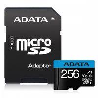 Adata Karta pamięci microSD Premier 256GB UHS1/CL10/A1+adapter