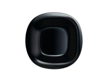 Talerz deserowy 19,5 cm czarny CARINE NEW LUMINARC