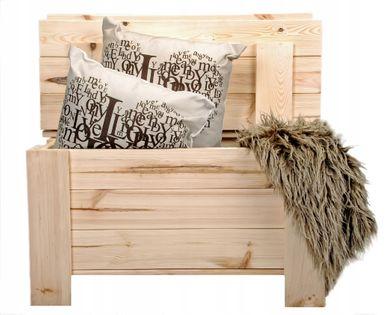 Ławka Skrzynia drewniana kufer schowek