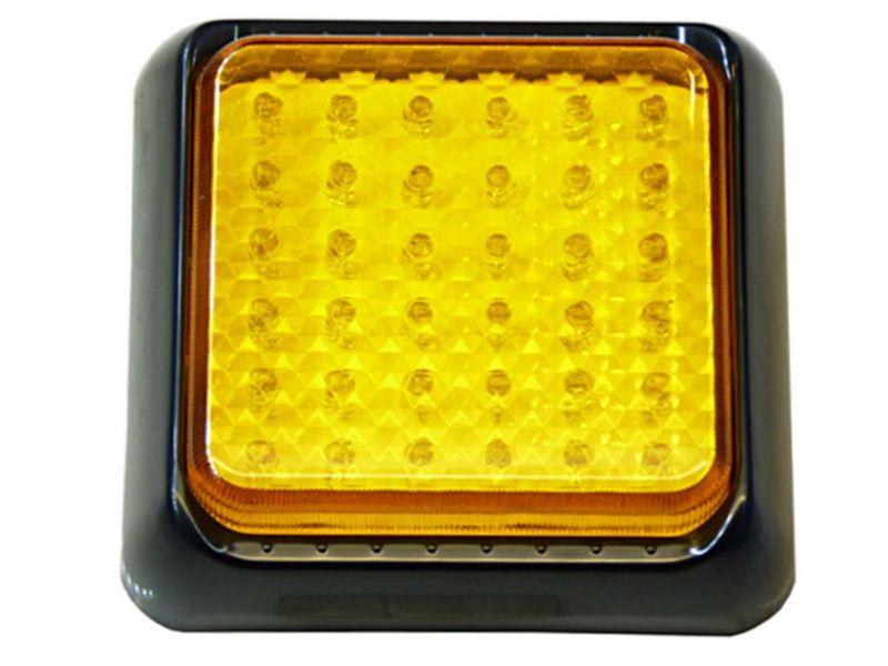 mocna Lampa 36 LED pomarańczowa uniwersalna kierunki ostrzegawcza itp na Arena.pl