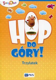 Trampolina Hop,do góry! Trzylatek Teczka