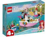Klocki Disney Princess 43191 Świąteczna łodź Arielki