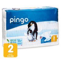 Pieluszki Pingo Ultra Soft 2 MINI 3-6kg 42szt.