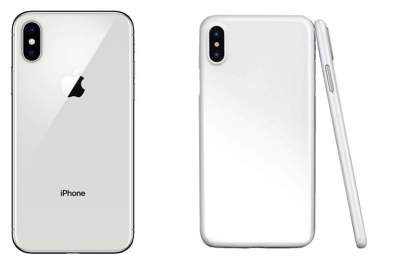 IPHONE X   CIENKIE ETUI CASE POKROWIEC SLIM MATOWE BIAŁY zdjęcie 1