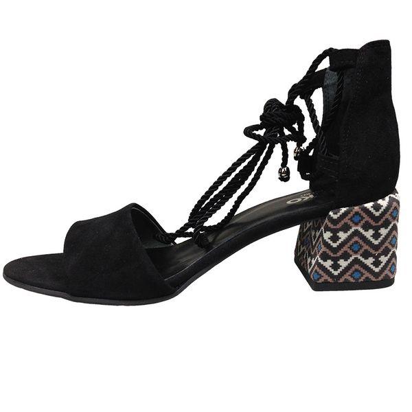 3ac34014 Sandały Ryłko 5DFF0 czarny Rozmiar obuwia - 37, Kolor - Czarny zdjęcie 2
