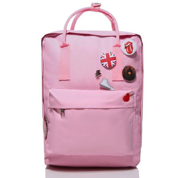 01bec997fd239 Plecak damski vintage różowy młodzieżowy jak kanken CLASSIC • Arena.pl