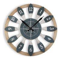 Zegar Ścienny Drewno MDF (60 x 4,5 x 60 cm)