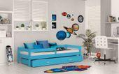 Łóżko dla dzieci HUGO 160x80  szuflada + materac KOLORY