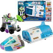 Mattel Toy Story 4 Statek Kosmiczny + Buzz
