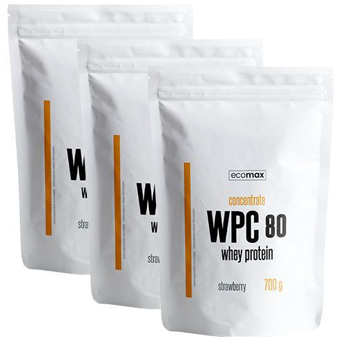 ECOMAX WPC 80 Whey Protein 700 g zdjęcie 1