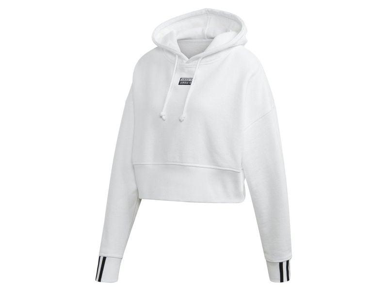 adidas bluza vocal crop hoodie rózowa