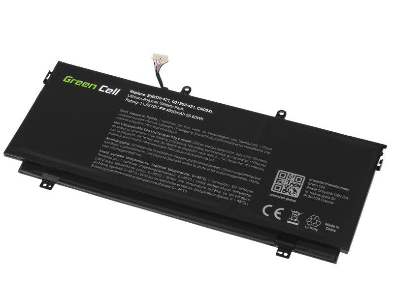 Green Cell Bateria do HP Envy 13 13T / 11,55V 4900mAh HP144 zdjęcie 2