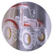 Firanka Traktory 300 x 150 cm - Pokój dziecięcy   WNT078 zdjęcie 3