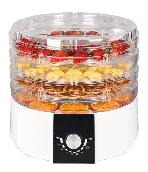 Suszarka do owoców warzyw grzybów i ziół 520W 4 kg zdjęcie 1