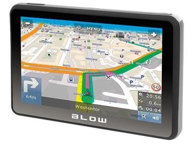 """Nawigacja GPS 5"""" mapa Europa Blow GPS50V zdjęcie 1"""