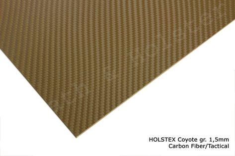 HOLSTEX Carbon Killer Coyote - 200x300mm gr. 1,5mm