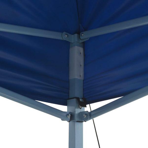 Rozkładany pawilon 3x6 m, niebieski zdjęcie 3