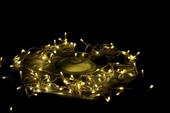Lampki ogrodowe 200 LED, ciepłe białe