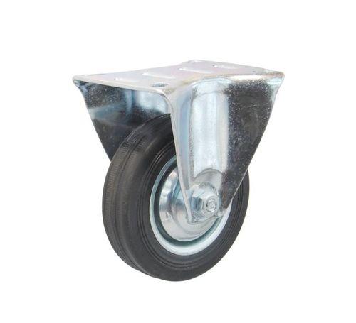Koła kółka stałe do wózka magazynowego transportowego fi 125, 100 kg na Arena.pl
