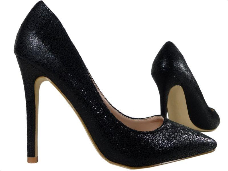 774f557281e6f Czarne szpilki klasyczne buty damskie 37 • Arena.pl