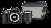 Nikon D5300 + Obiektyw AF-S DX 18-105 VR + SD 16GB + Torba