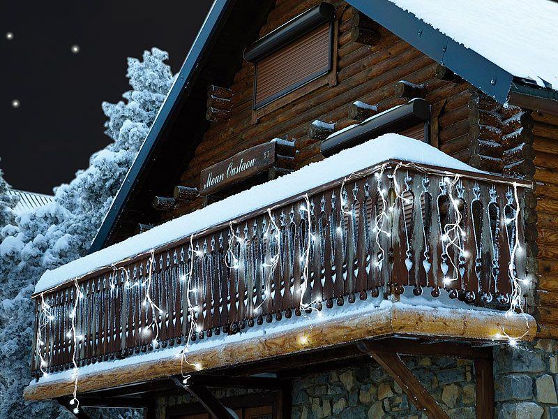 Lampki świąteczne LED zimna biel Lunartec zdjęcie 2