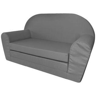 Sofa amerykanka dziecięca szara