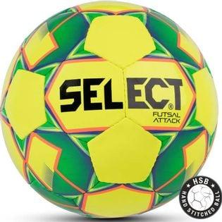 Piłka nożna Select Futsal Attack 2018 Hala żółto zielona 14160