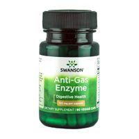 Swanson Anti-Gas Enzyme 123mg 90 vege kaps.