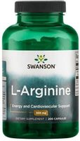 Swanson L-Arginina 500 Mg 200 K