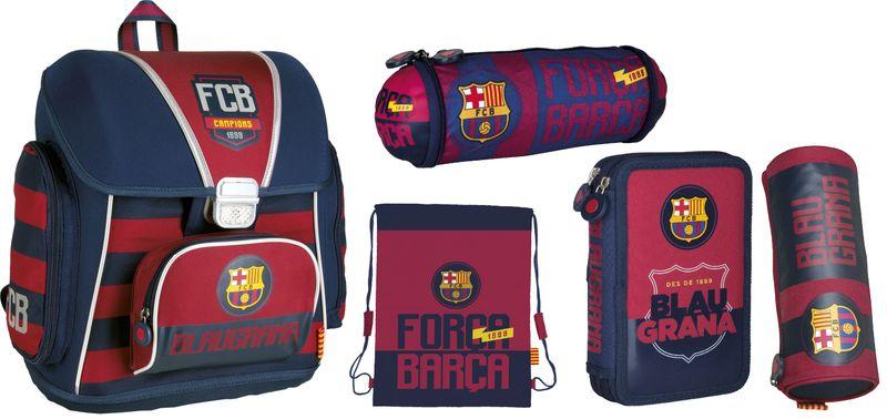 Tornister szkolny FC-76 FC Barcelona w zestawie Z7 zdjęcie 1