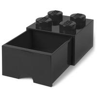 LEGO - Duży pojemnik na klocki z szufladą 4 czarny 40051733