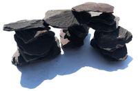 Akwarium Kamień Grys Fioletowy 30-60 mm Worek 20KG