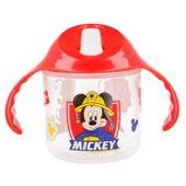 Mickey Mouse - Kubek niekapek z uchwytami 250 ml