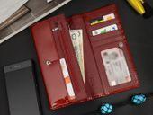 POJEMNY Damski Skórzany Portfel A.Paoli  RFID Q36 zdjęcie 5