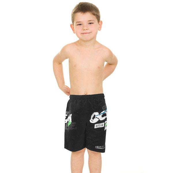 Szorty pływackie DAVID Kolor - Stroje męskie - David - 07 - czarny, Rozmiar - Stroje dziecięce - 134-140 (7/8A) zdjęcie 2