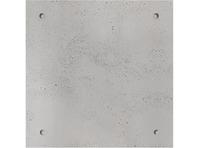 BETON ARCHITEKTONICZNY | PŁYTA ŚCIENNA BETONOWA 60x60 cm KOLOR SZARY