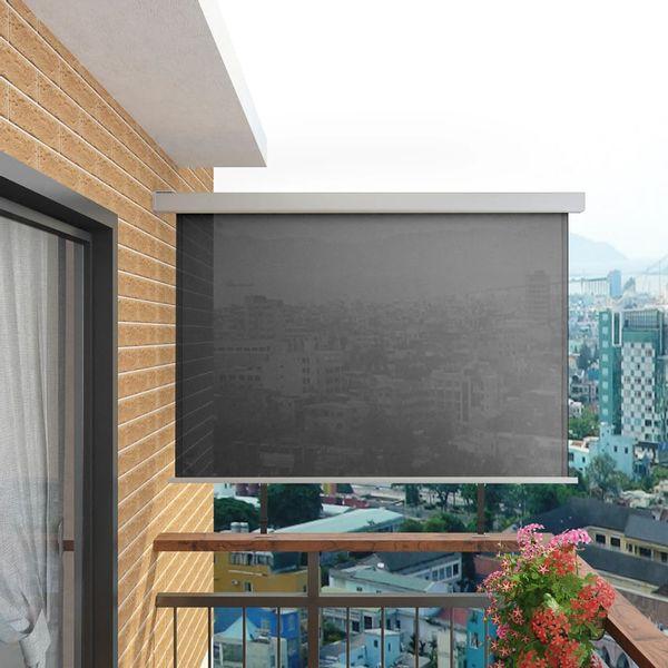 Wielofunkcyjna markiza boczna, balkonowa, 180 x 200 cm, szara GXP-680863 zdjęcie 1