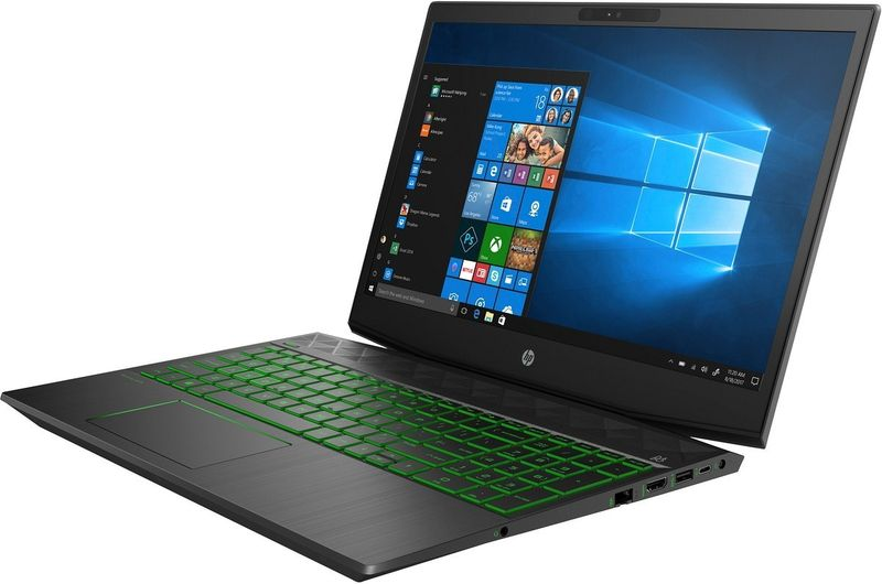 HP Pavilion Gaming 15 FullHD IPS Intel Core i5-8300H 16GB DDR4 512GB SSD NVMe NVIDIA GeForce GTX 1050 Ti 4GB Windows 10 zdjęcie 4